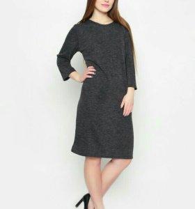 Новое теплое платье! 56 р-р