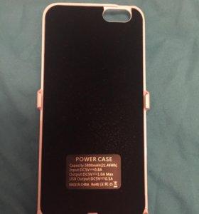 Портативная зарядка для iPhone 6-6s