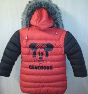Куртка зима рост до 110см