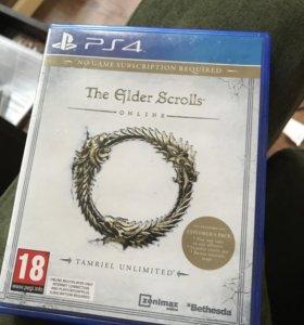 The elder scrolls online ps4