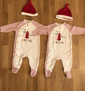 Новогодние костюмы для двойни близценов