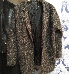 Пальто пиджак букле