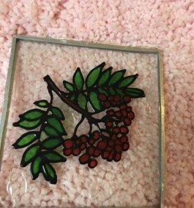 Маленькое витражное стекло