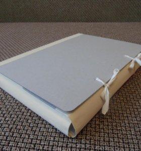 Папка для бумаг с завязками