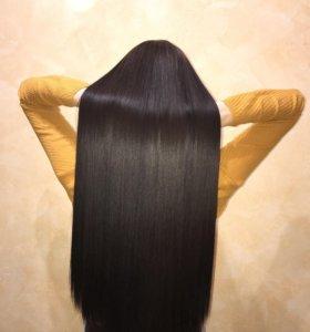 Кератиновое восстановление-выпрямление волос