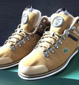 Зимние ботинки Lacoste
