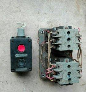 Пускатель магнитный с кнопкой