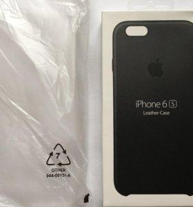 Оригинальный кожаный чехол Apple iPhone 6/6s
