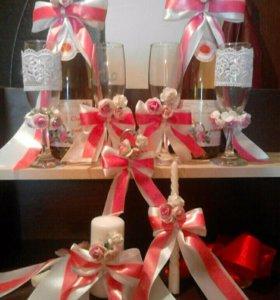 Быки,бокалы,очаг,замок-все для Вашей свадьбы