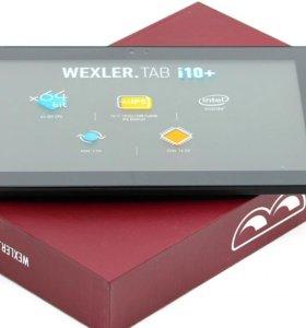 Новый планшет WEXLER Tab i10+ Intel 1920*1200