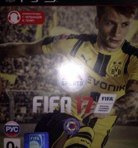 FIFA 17 для PS3 диск возможен обмен