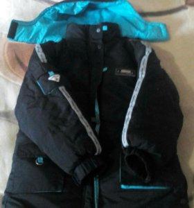 Куртка зимняя б/у на мальчика.