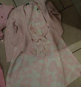 Комплект одежды(Платье,Кофта)
