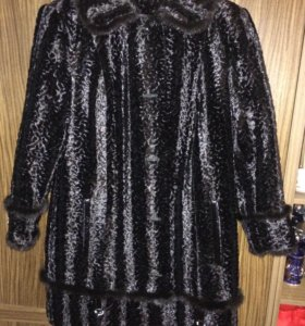 Пальто под каракуль р 50-52