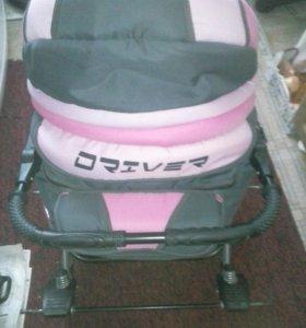 коляска трансформер для девочки