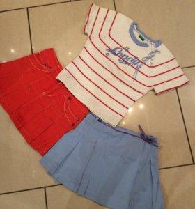 Комплект ( свитер и 2 юбочки)