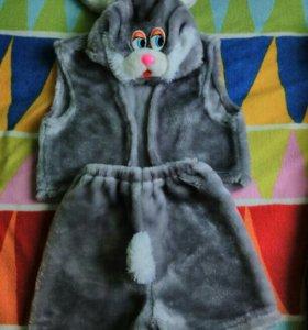 Костюм зайчика на 3-5 лет
