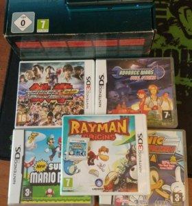 Nintendo 3ds + игры