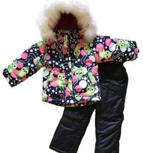 Комплект для девочек зимний