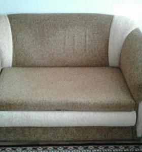 Мягкая мебель (диван+2 кресла)