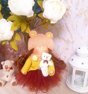 ☑️Интерьерная куколка