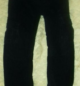 Брюки штаны теплые вельветовые