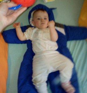 зимний комбинезон на мальчика размер 26 , 80-86 см