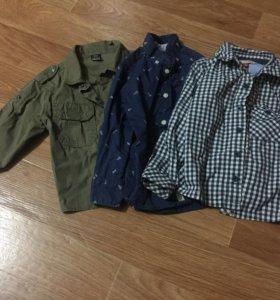 Рубашки для маленького модника