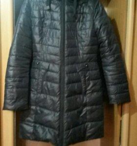 Пальто зимнее двустороннее