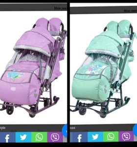Санки-коляска Ника-Детям 7-4