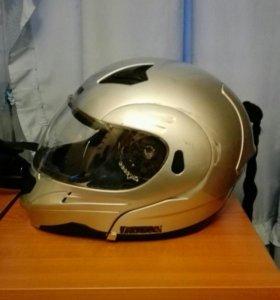 Мото шлем модуляр vega (L)