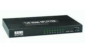 Splitter hdmi 1×8