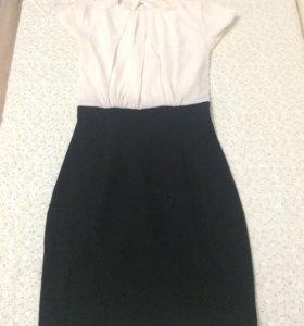 Классическое строгое платье