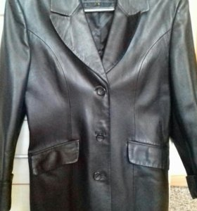 Пиджак кожаный жен.
