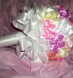 Новый букет невесты ручной работы