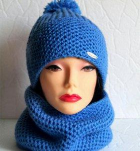 Комплект: шапка+шарф-труба