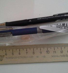Механический карандаш с диаметром грифеля 2 мм.