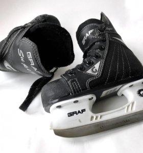 Коньки хоккейные Graf 27 размер