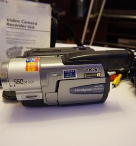 Видеокамера Recorder Hi8 SONY