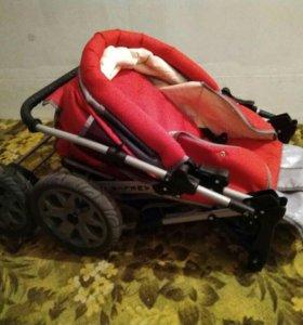 Детская коляска зима-лето (трансформер)