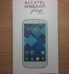 Телефон Alcatel onetouch Pop c5