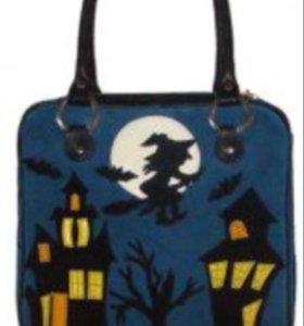 Кожаная сумка Elbi (новая)