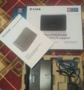 WiFi маршрутизатор D-Link DIR-620
