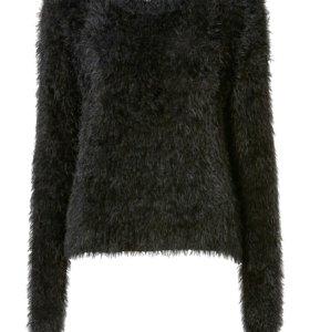 Пушистый свитер  размер 46