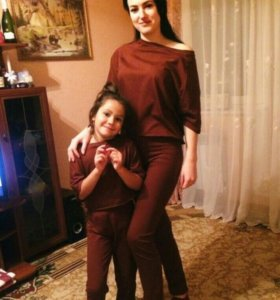 Домашний костюм для детей и взрослых