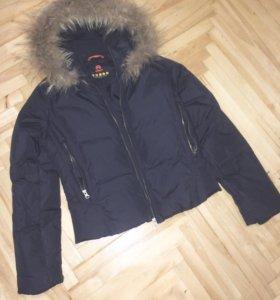 Куртка пуховик женская 42р-р