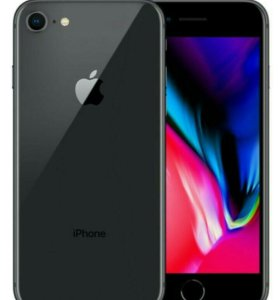 Iphone 8 64 black. Новый. Demo