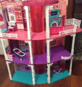 З-х этажный кукольный дом