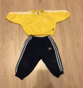 Костюм для малыша Adidas на рост 68