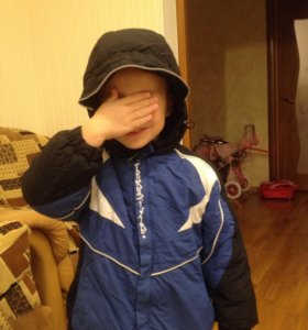 Куртка зимняя для мальчика. 98 размер.